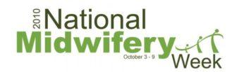 logo for 2010 national midwifery week