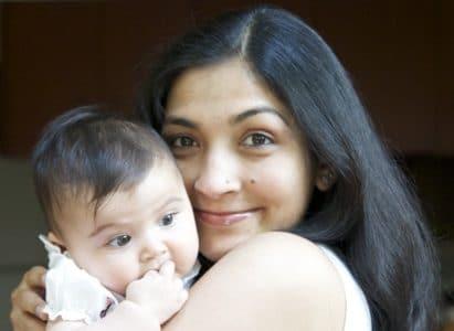 Ayesha and her daughter, Tara