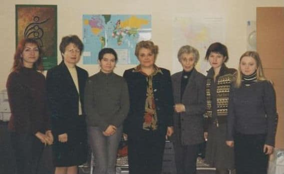 Members of the National Women's Studies and Information Center