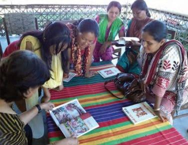 Women in Udaipur, eastern Nepal