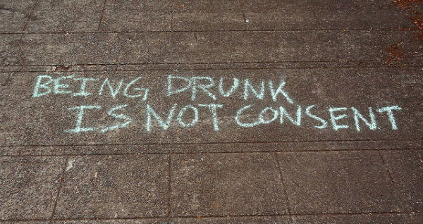 Being Drunk is Not Consent