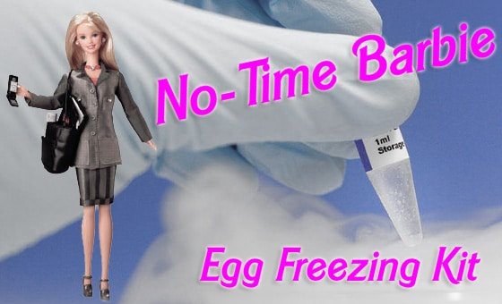 Reductress: Barbie's New Egg Freezing Kit