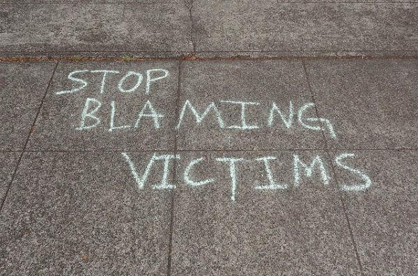 Stop blaming victims