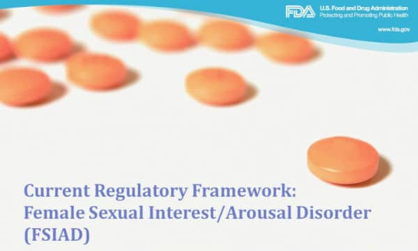 FDA scientific workshop on Female Sexual Dysfunction