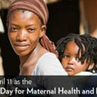 Recognize April 11 as the International Day for Maternal Health and Rights!