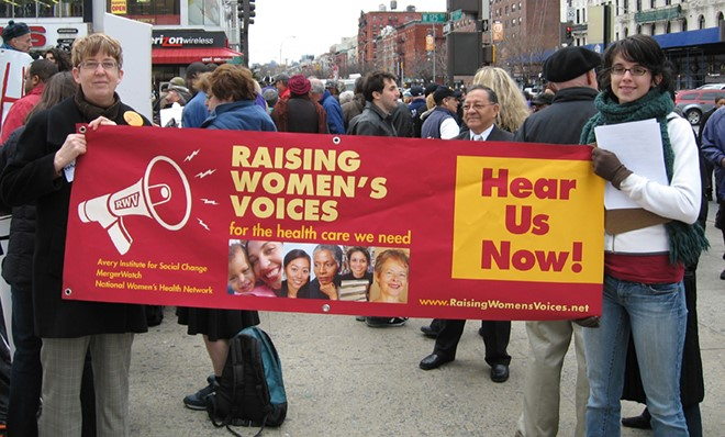 Raising Women's Voices banner
