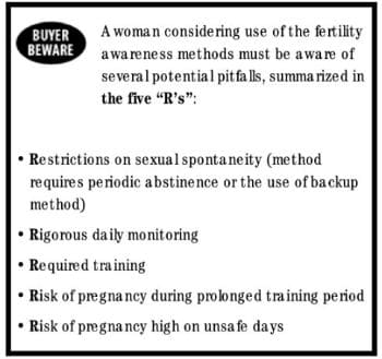 """The 5 """"Rs"""" of Fertility Awareness"""