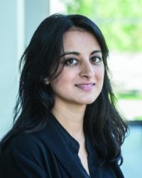 headshot of Aziza Ahmed
