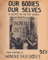 """Cover of the 1971 edition of """"Our Bodies, Our Selves"""""""