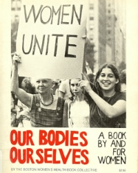 """cover of the 1973 edition of """"Our Bodies, Ourselves"""""""